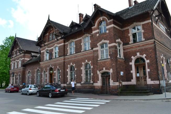 Dworzec kolejowy we Wronkach