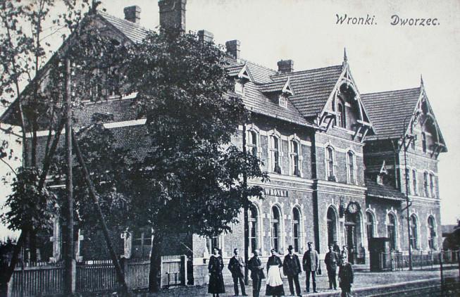 Dworzec kolejowe we Wronkach