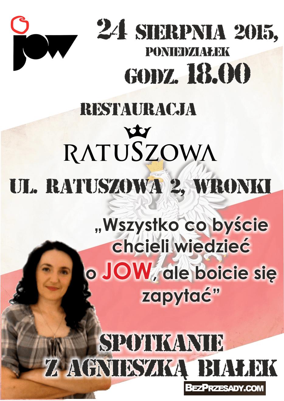 Plakat JOW