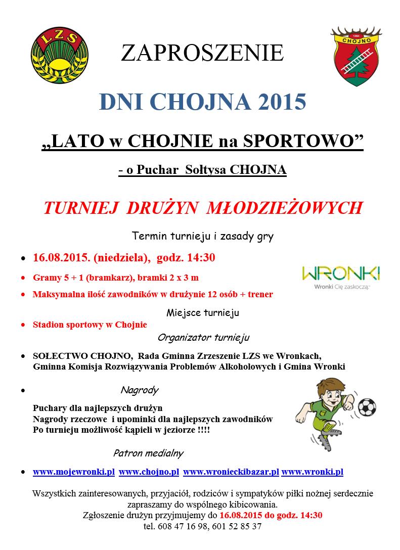 Turniej w Chojnie