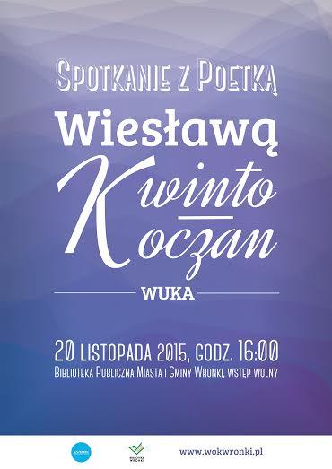 Poetka we Wronkach Spotkanie Bibliotece publicznej MiG