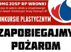 """Jak co roku straż pożarna we Wronkach, zaprasza do wzięcia udziału w gminnych eliminacjach do ogólnopolskiego konkursu """"Zapobiegajmy Pożarom"""". Każdego roku, tak i w tym, na terenie gminy Wronki ogłaszane są eliminacje do ogólnopolskiego konkursu plastycznego, którego tematyką jest praca strażaków, zarówno tych zawodowych jak i ochotników pod tytułem """"Zapobiegajmy Pożarom"""". Prace plastyczne to nie […]"""