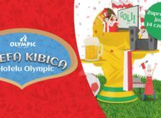 Mundial w Rosji za pasem, przeżyjcie piłkarskie emocje w Strefie Kibica Hotelu Olympic. To jedyne miejsce w okolicy, pozwalające śledzić wszystkie mecze Mistrzostw Świata w takiej aranżacji. Zapraszamy do kibicowania w olimpijskim stylu! Już w czwartek rozpoczyna się najważniejsza piłkarska impreza – oczywiście z udziałem Reprezentacji Polski. Dla fanów biało-czerwonych jak i piłki nożnej w […]