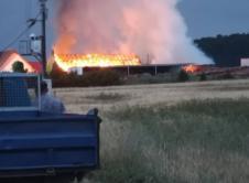W środę 11 lipca o godz. 20.56 do dyżurnego Stanowiska Kierowania Państwowej Straży Pożarnej w Szamotułach wpłynęło zgłoszenie o pożarze stodoły w miejscowości Dobrogostowo gm. Obrzycko. Kolejne zgłoszenie informowało o pożarze tartaku oraz zagrożeniu na sąsiednie budynki. Dyżurny SK niezwłocznie do zdarzenia zadysponował cztery zastępy z Jednostki Ratowniczo – Gaśniczej w Szamotułach, dwa zastępy OSP […]