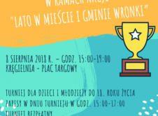 """Lubisz grać w kręgle? To świetnie się składa, bo już 8 sierpnia możesz wziąć udział w Otwartym Turnieju Kręglarskim. Już w tę środę, 8 sierpnia, w kręgielni przy Placu Targowym, odbędzie się Otwarty Turniej Kręglarski. Turniej zorganizowany przez Gminę Wronki przy współpracy Klubu Kręglarskiego Dziewiątka-Amica Wronki, w ramach akcji """"Lato w mieście i gminie Wronki […]"""