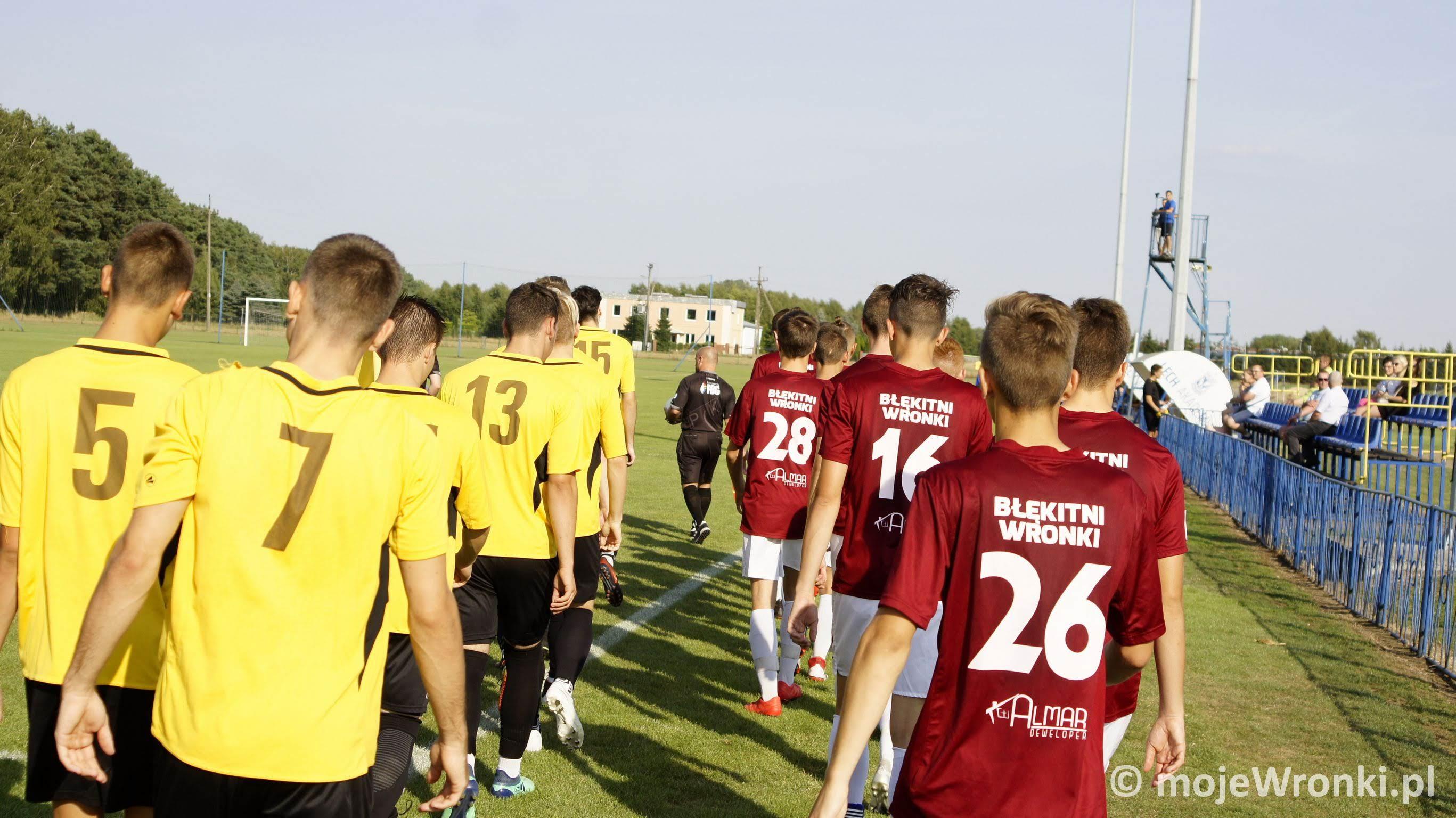 Juniorzy Błękitnych rozpoczęli sezon
