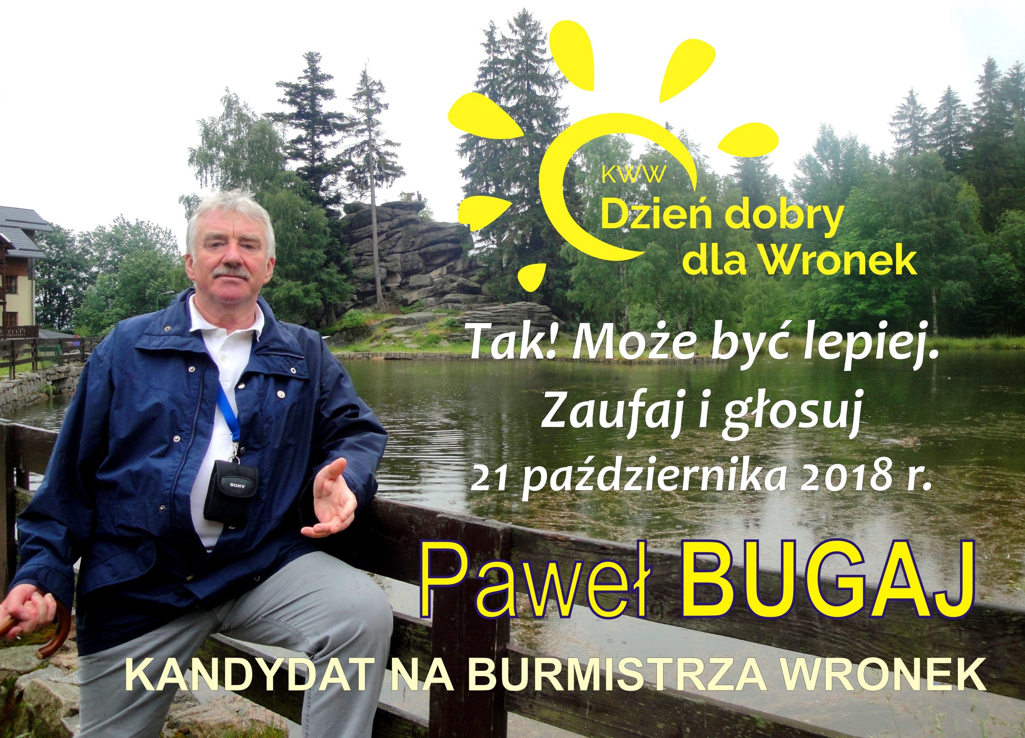 Paweł Bugaj - KWW Dzień dobry dla Wronek