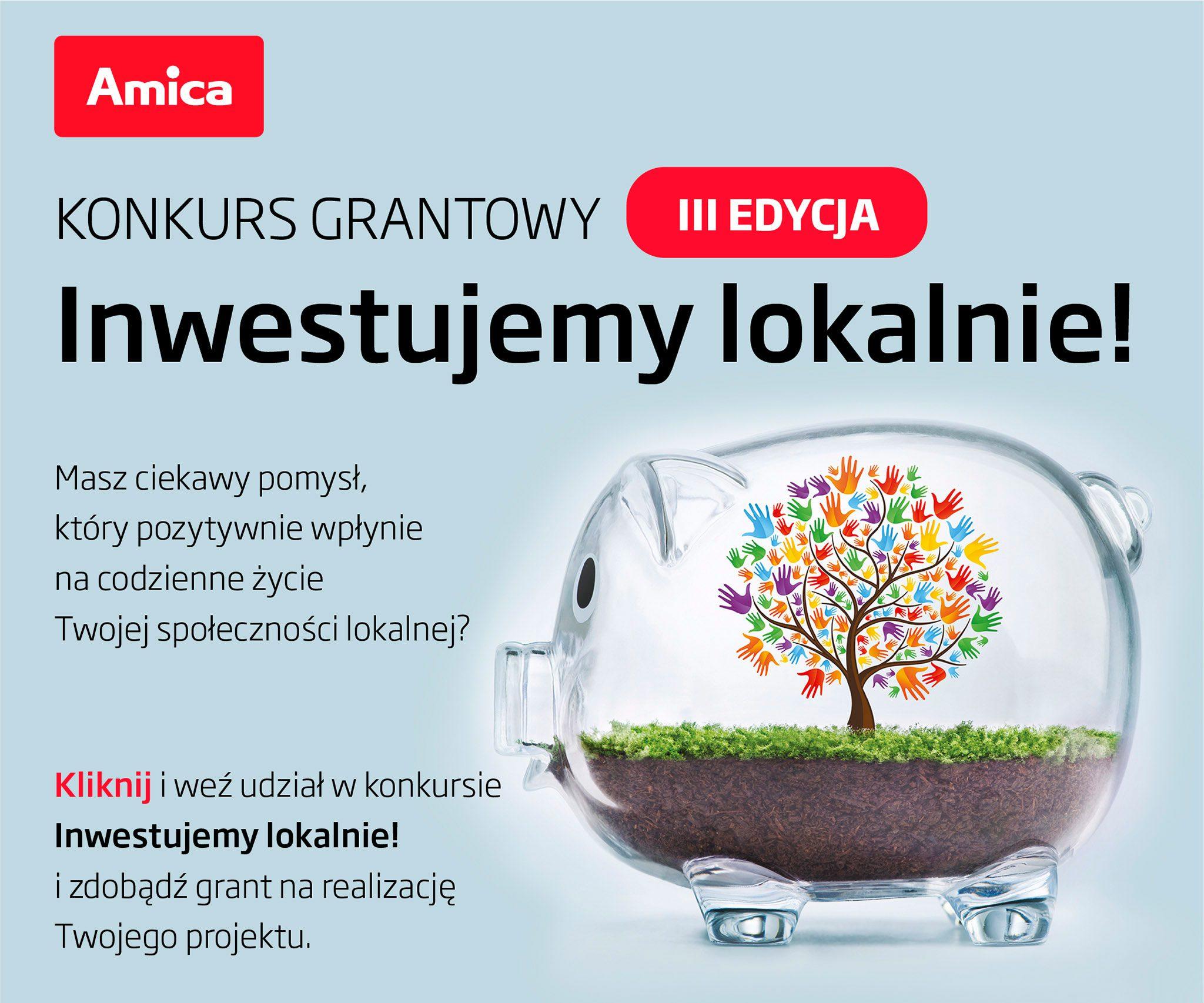 Amica - Inwestujemy lokalnie!