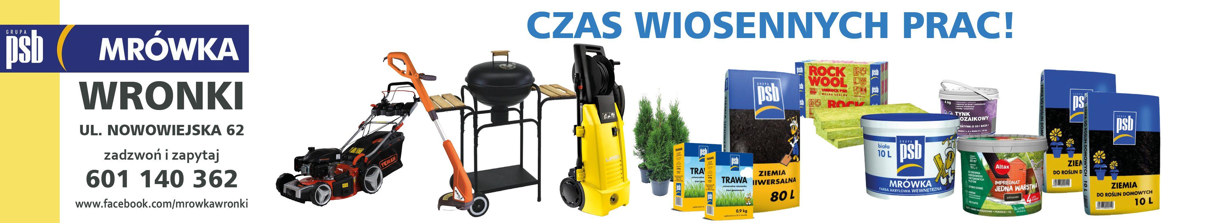 Mrówka Wronki - dekoracje, artykuły dla domu i ogrodu, chemia gospodarcza, materiały budowlane, elektryczne i instalacyjne